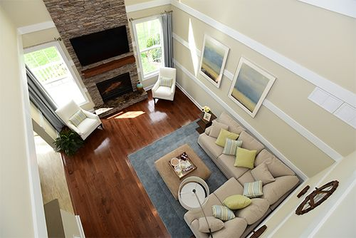 Greatroom-and-Dining-in-The Willow-at-Barclay Brook-in-Old Bridge