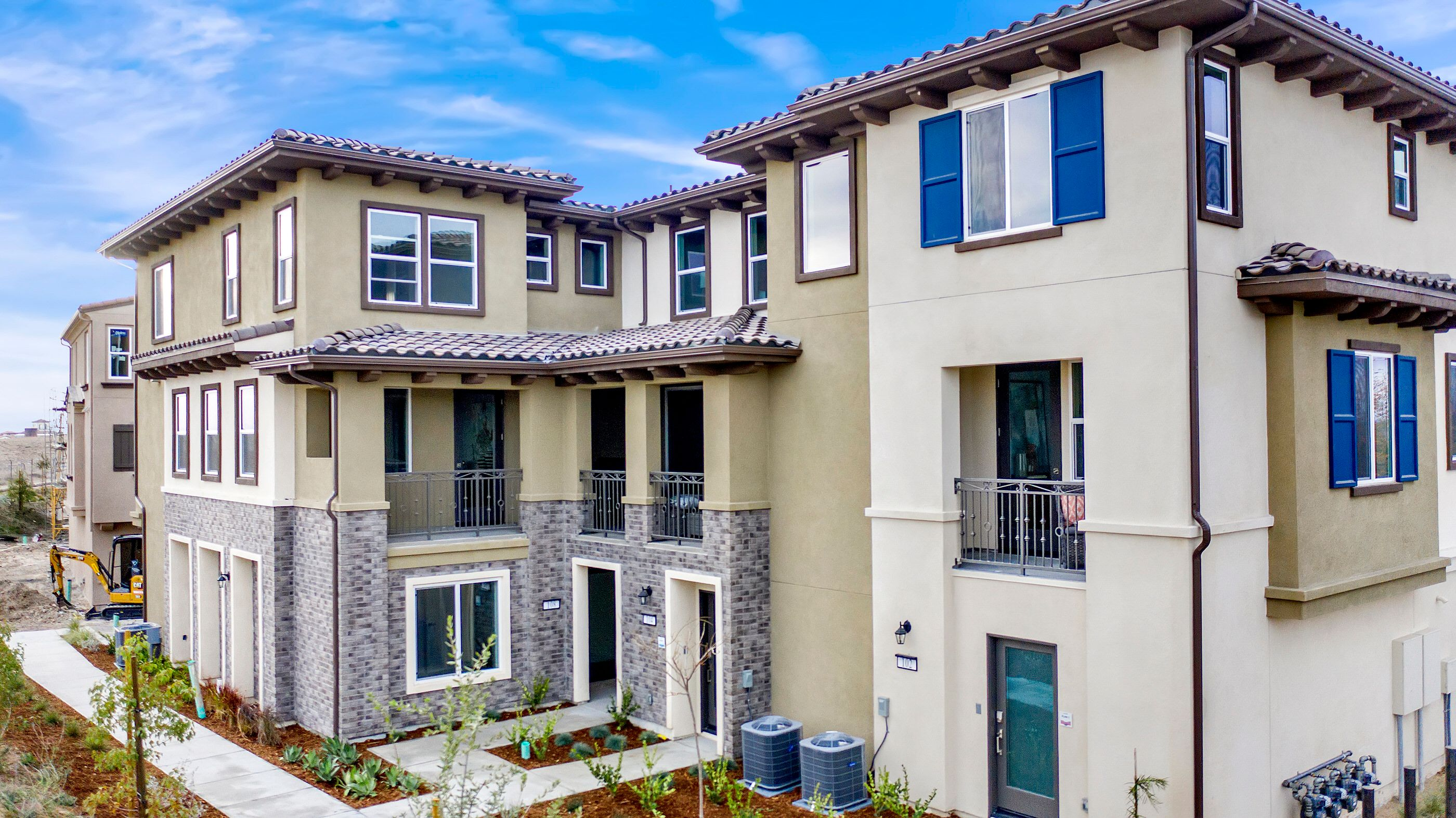 Exterior featured in the Plan 3 By Hallmark Communities in San Diego, CA