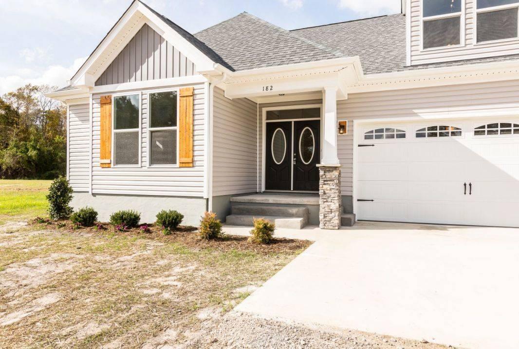 Exterior featured in the Decklan By Custom Homes of Virginia in Norfolk-Newport News, VA
