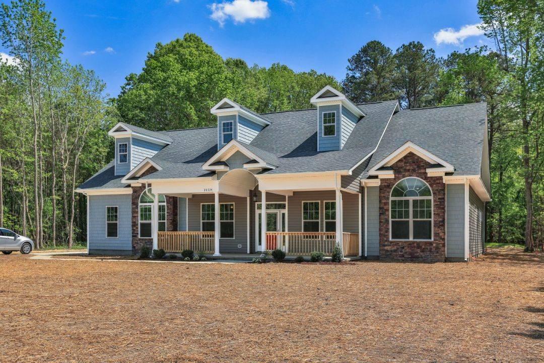 Exterior featured in the Clarinbridge By Custom Homes of Virginia in Norfolk-Newport News, VA