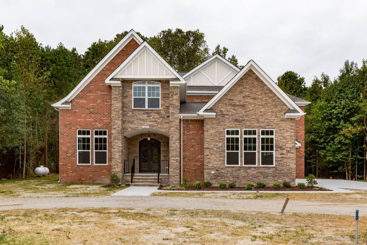 Exterior featured in the Bellview By Custom Homes of Virginia in Norfolk-Newport News, VA