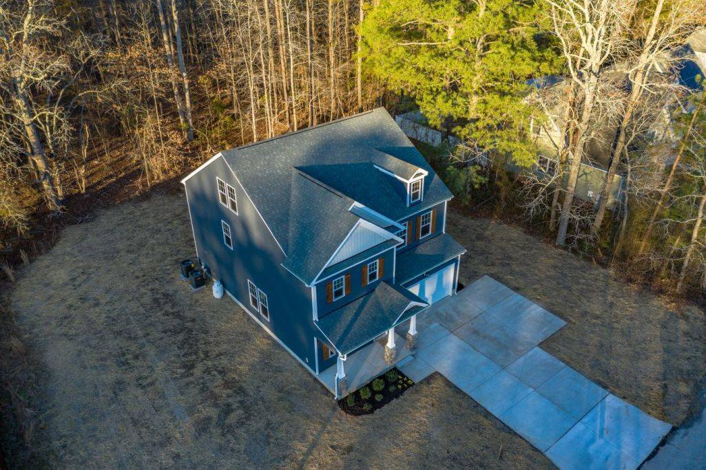 Exterior featured in the Kenston 3 Story By Custom Homes of Virginia in Norfolk-Newport News, VA