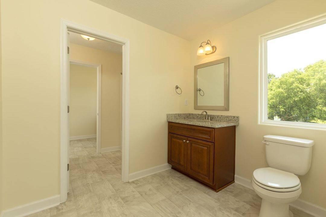 Bathroom featured in the Greystone Ultra I I By Custom Homes of Virginia