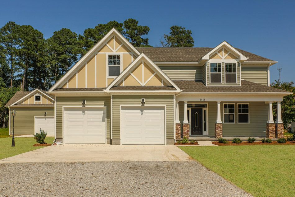 'Build On Your Lot in Suffolk' by Custom Homes of Virginia in Norfolk-Newport News