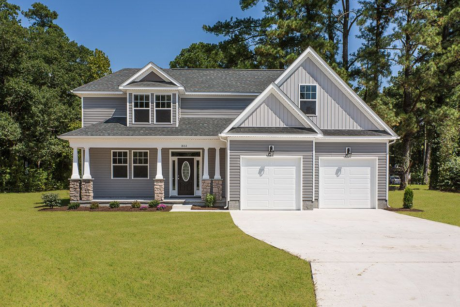 'Build On Your Lot in Newport News' by Custom Homes of Virginia in Norfolk-Newport News