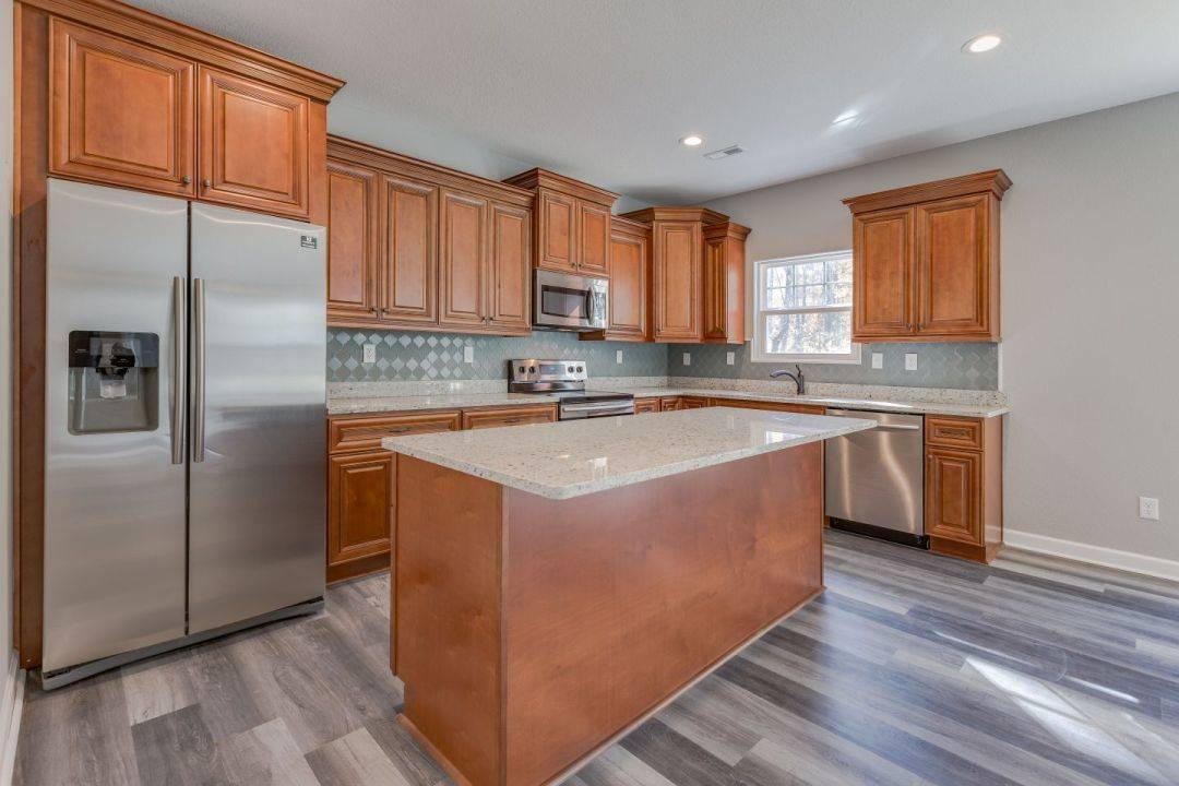 Kitchen featured in the Kenston By Custom Homes of Virginia in Norfolk-Newport News, VA