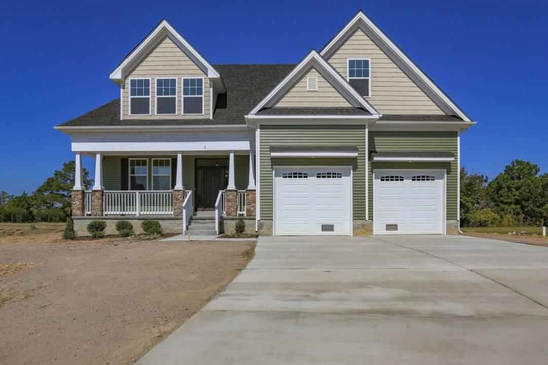 Exterior featured in the Rourke By Custom Homes of Virginia in Norfolk-Newport News, VA