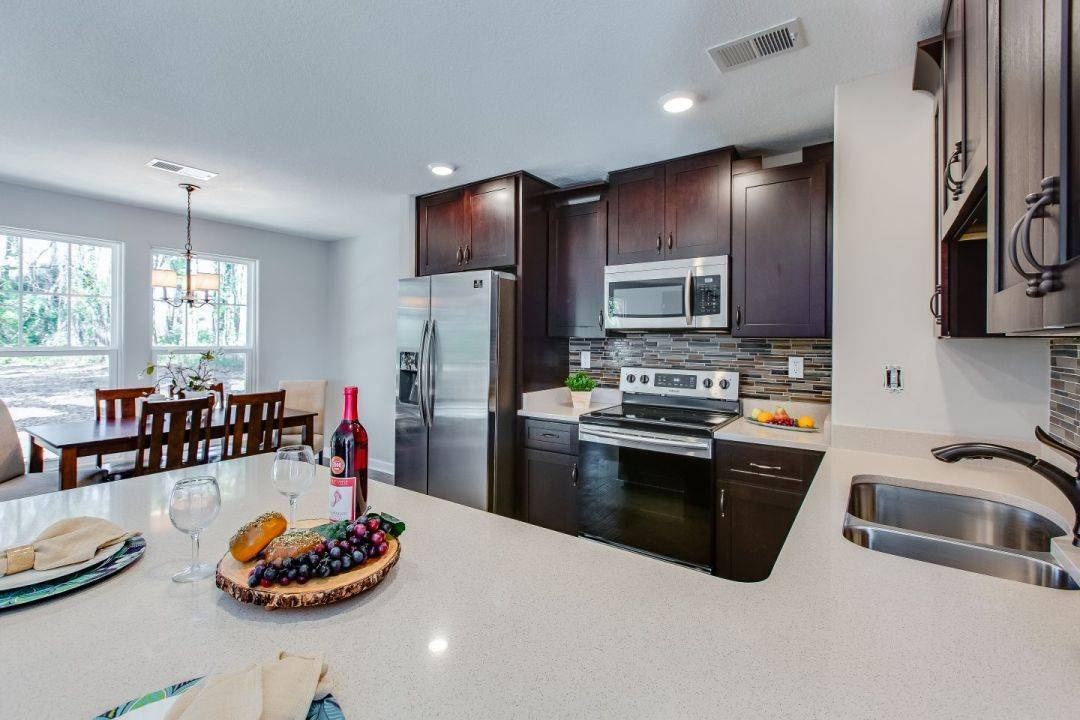 Kitchen featured in the Riley II By Custom Homes of Virginia in Norfolk-Newport News, VA