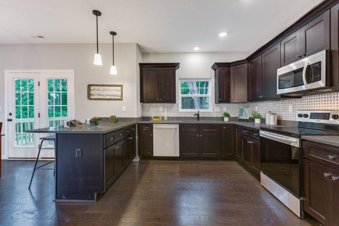 Kitchen featured in the Kelvin II By Custom Homes of Virginia in Norfolk-Newport News, VA
