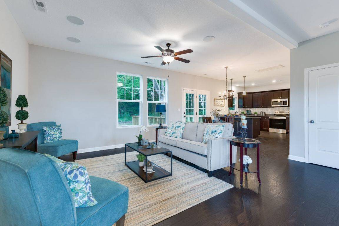 Living Area featured in the Kelvin II By Custom Homes of Virginia in Norfolk-Newport News, VA