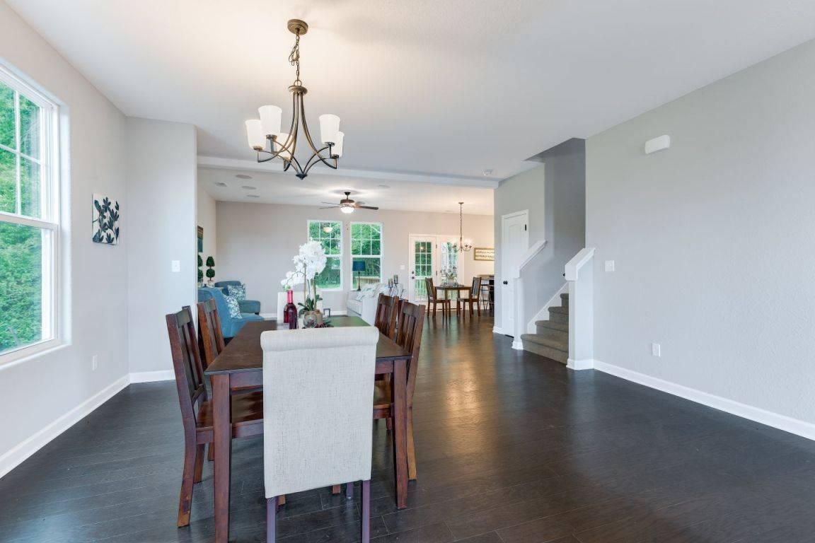Living Area featured in the Kelvin II By Custom Homes of Virginia in Norfolk-Newport News, VA