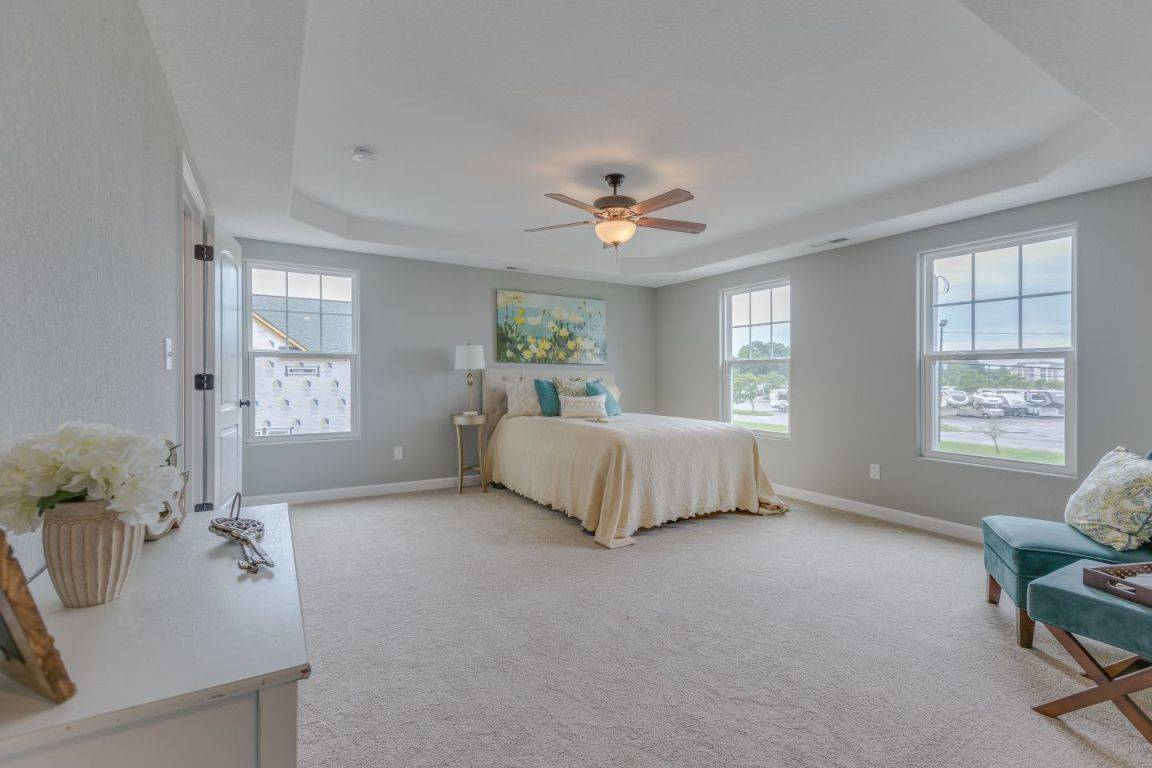 Bedroom featured in the Kelvin II By Custom Homes of Virginia in Norfolk-Newport News, VA