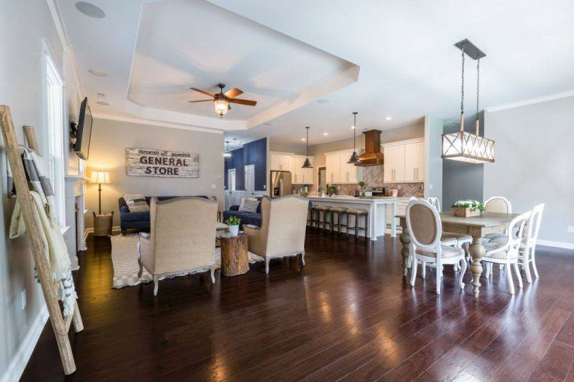 Living Area featured in the Daniella By Custom Homes of Virginia in Norfolk-Newport News, VA