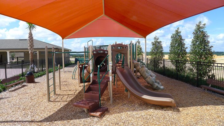 Ardmore Reserve shaded tot lot:Ardmore Reserve shaded tot lot