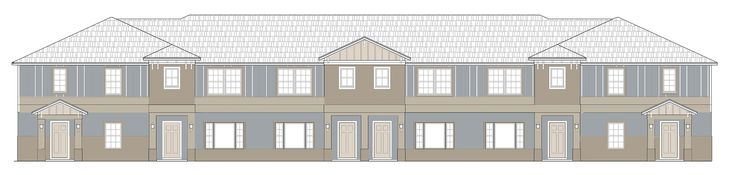 Williams Preserve Townhomes:Williams Preserve Townhomes rendering