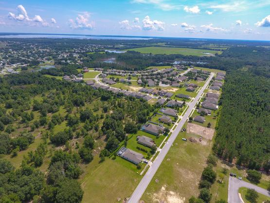 Community Aerial:Windsong, Leesburg, Florida     Hanover Family Builders