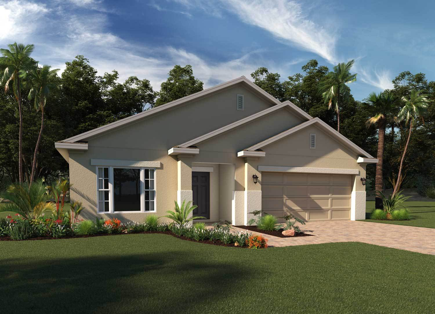 Exterior featured in the Lexington By Hanover Family Builders in Lakeland-Winter Haven, FL