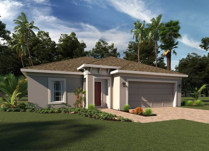 Exterior featured in the Berkshire By Hanover Family Builders in Orlando, FL