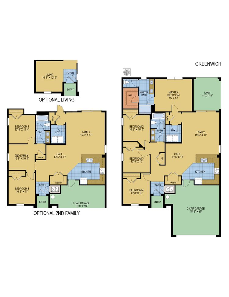 Greenwich floor plan