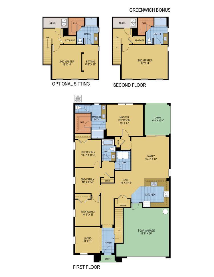Greenwich Bonus floor plan