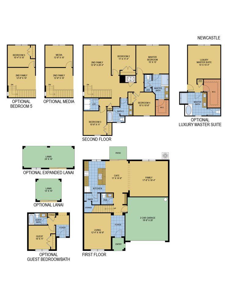 New Castle floor plan