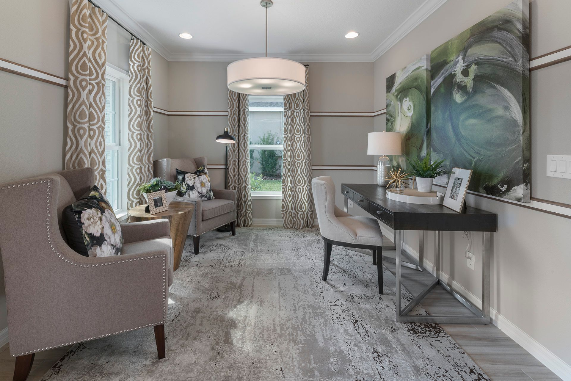 Living Area featured in the Greenwich Bonus By Hanover Family Builders in Lakeland-Winter Haven, FL