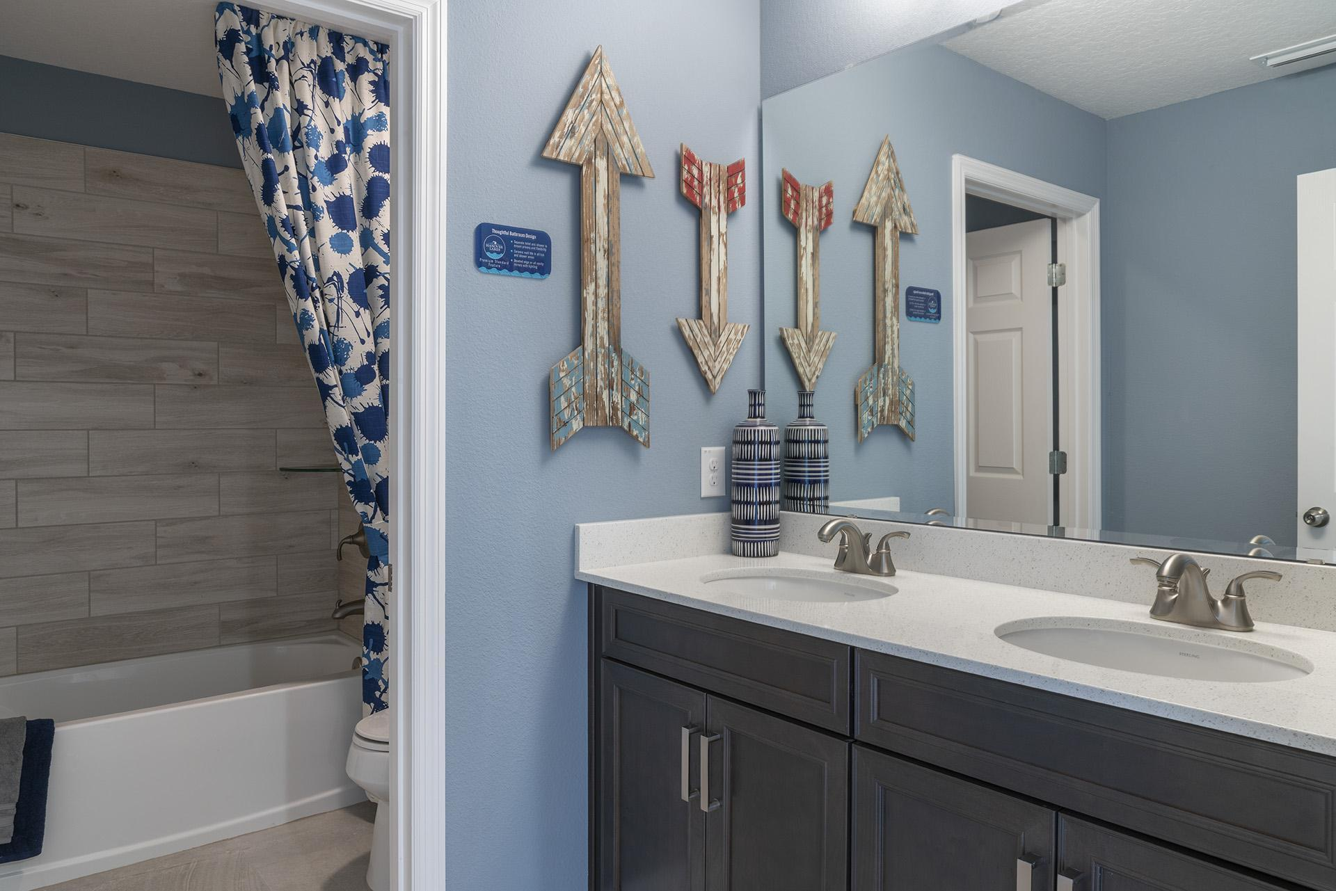 Bathroom featured in the Osceola Premier By Hanover Family Builders in Orlando, FL