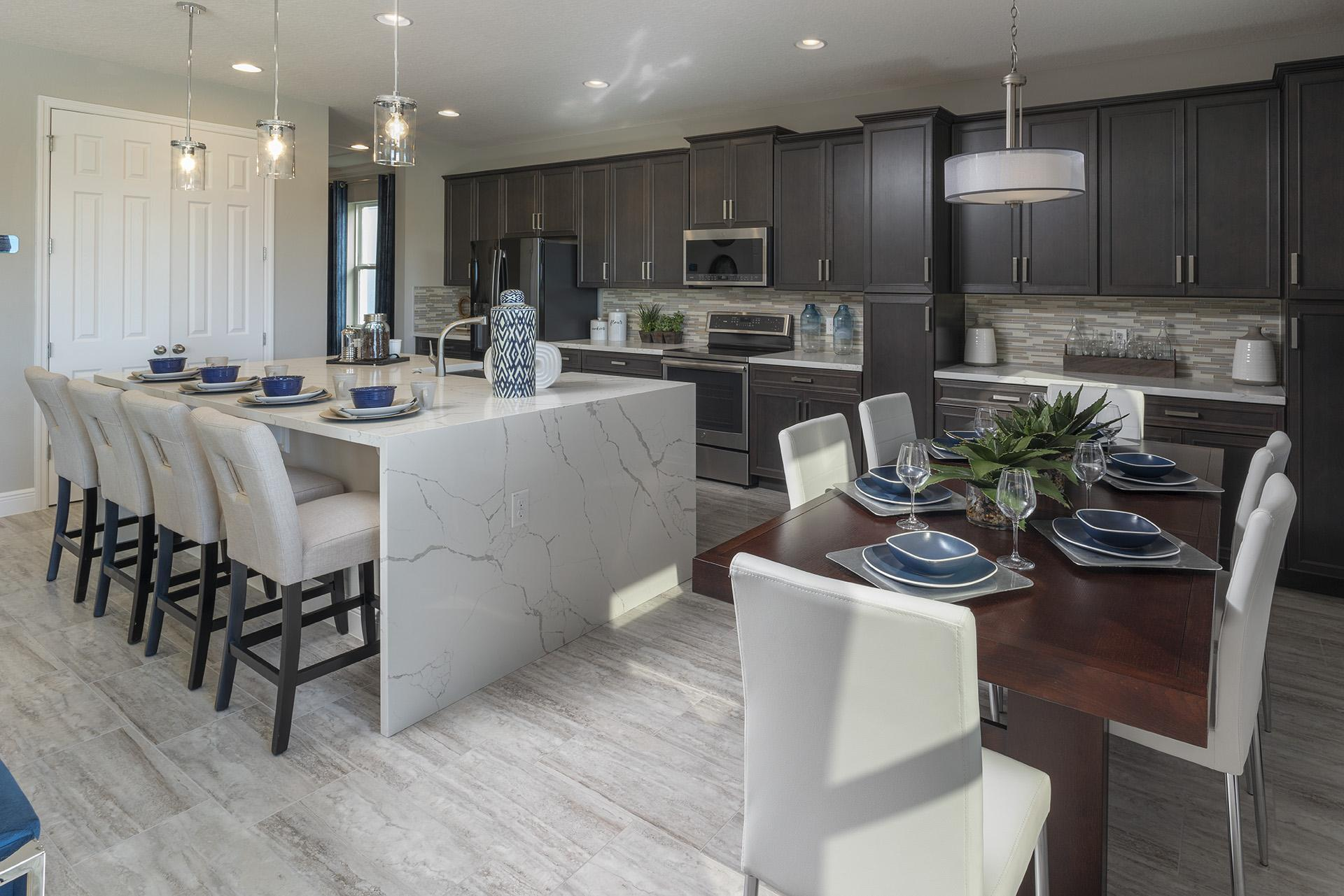Kitchen featured in the Osceola Premier By Hanover Family Builders in Orlando, FL