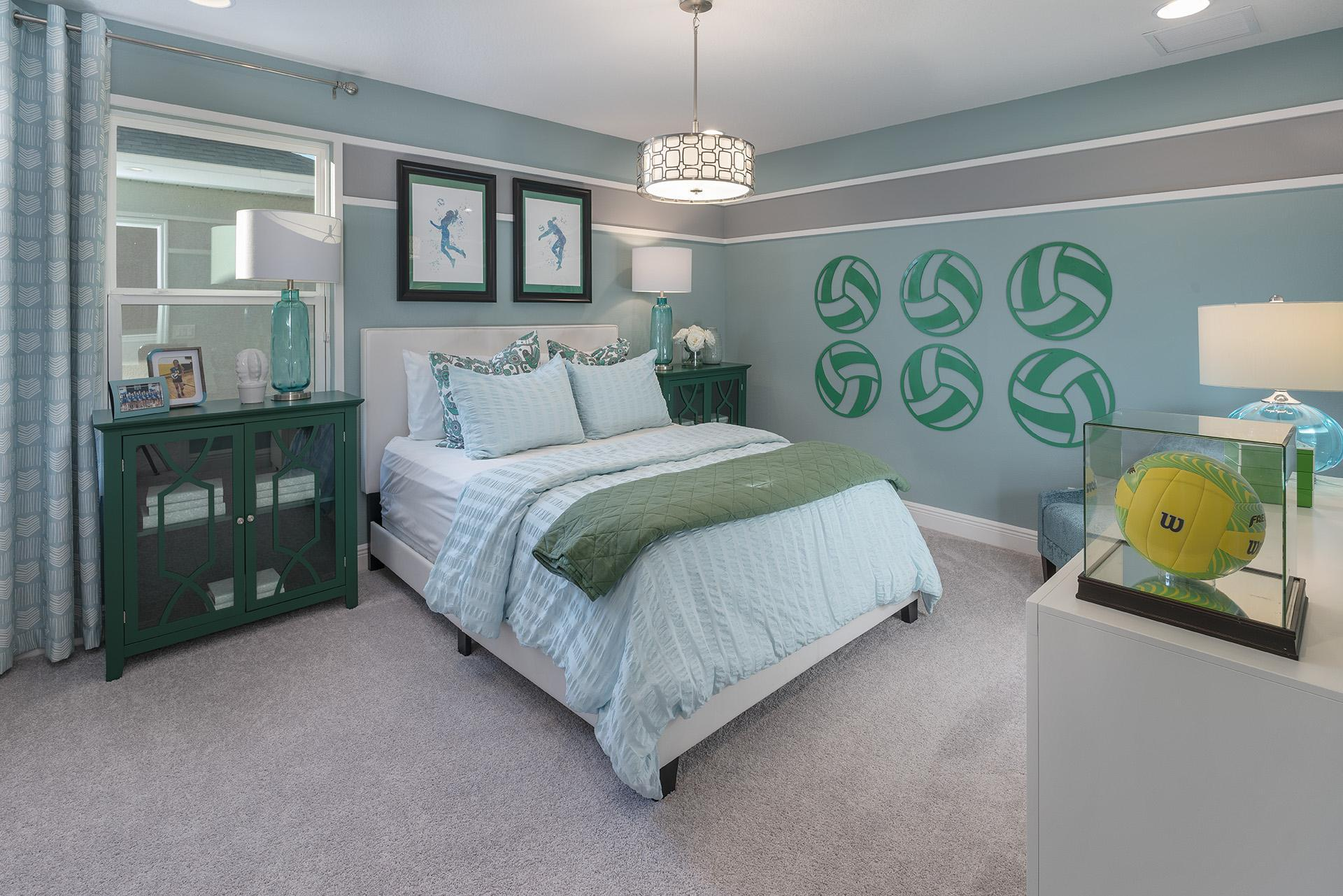 Bedroom featured in the Osceola Premier By Hanover Family Builders in Orlando, FL