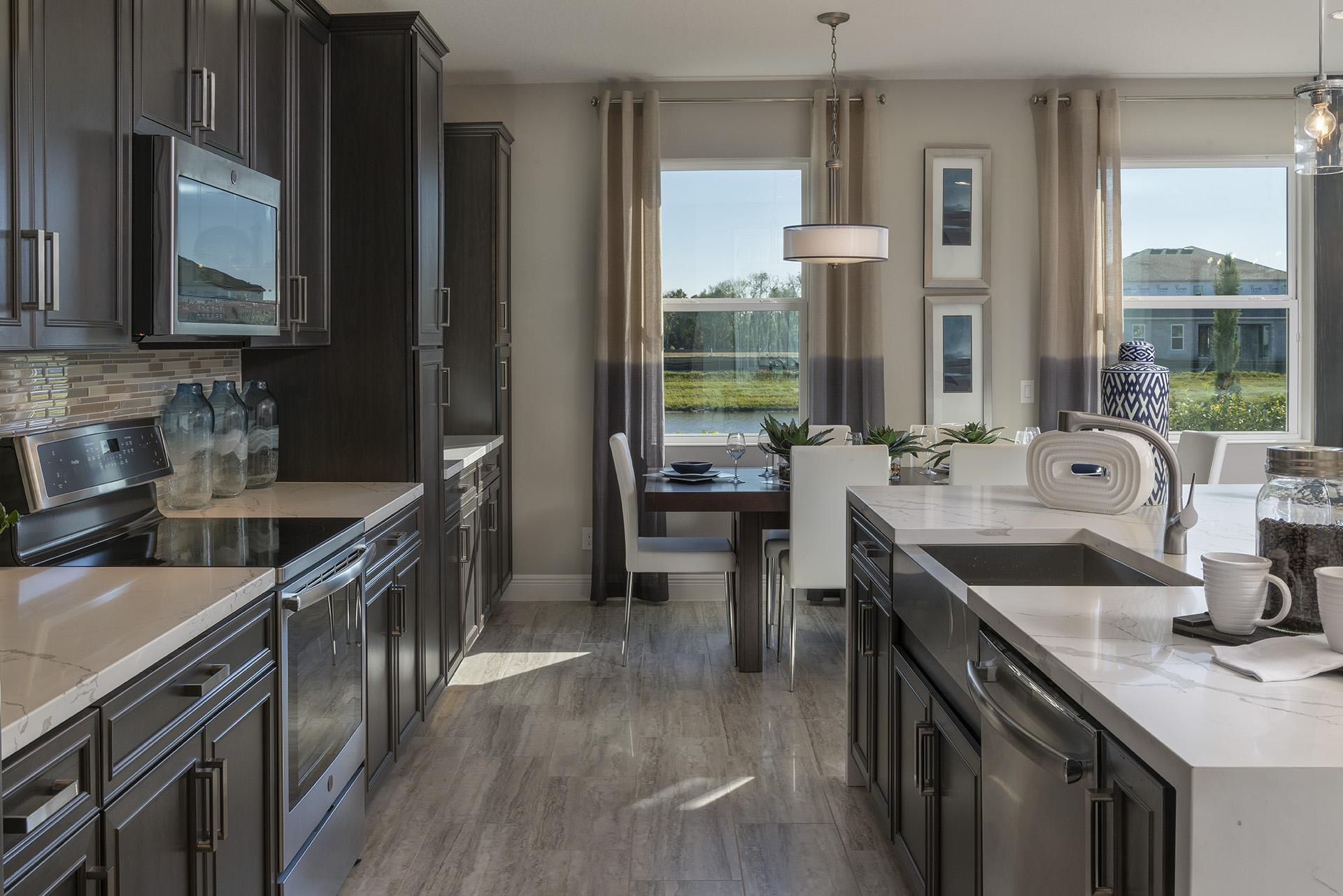 Kitchen featured in the Osceola Executive By Hanover Family Builders in Orlando, FL