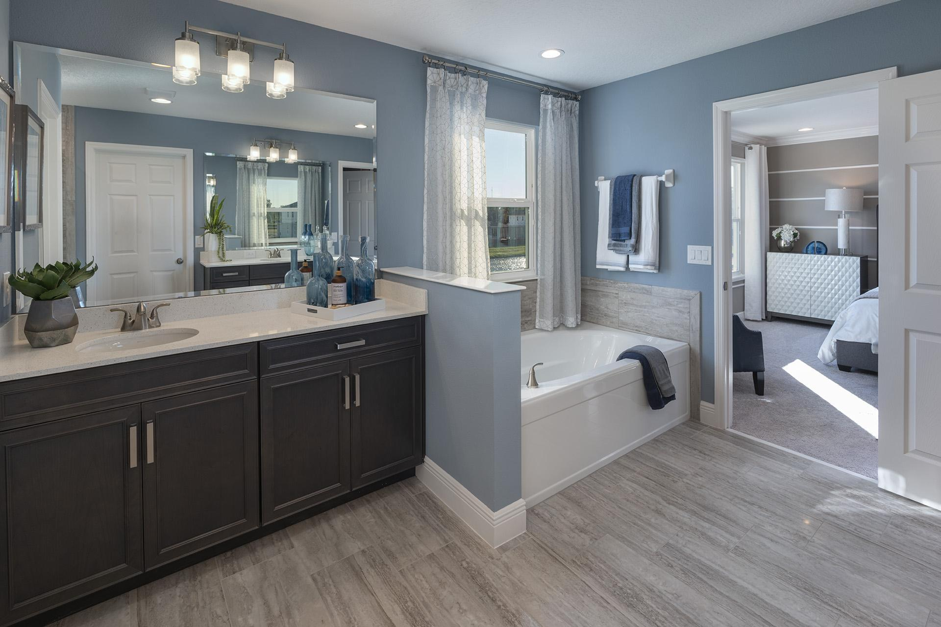 Bathroom featured in the Osceola Executive By Hanover Family Builders in Orlando, FL