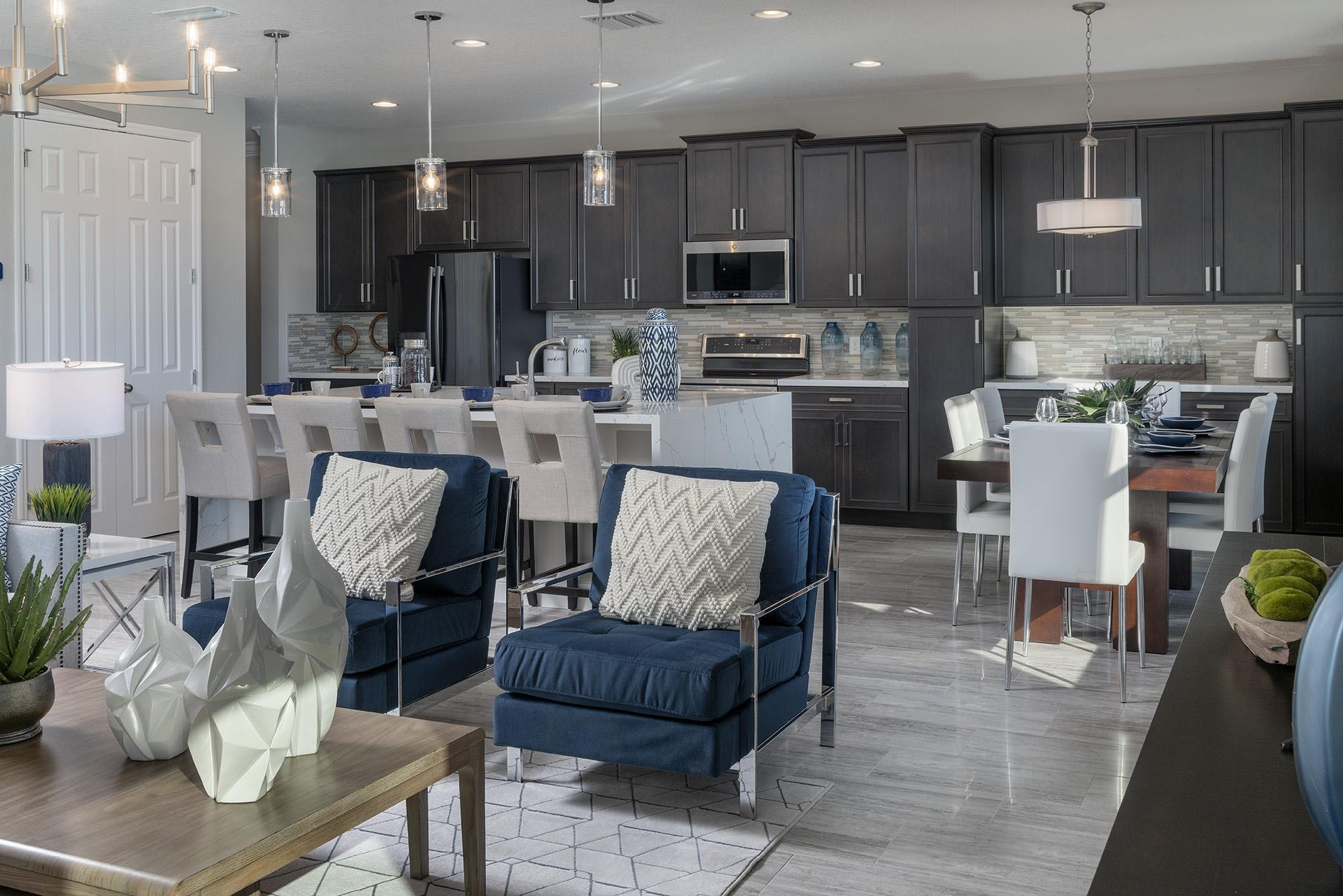 Living Area featured in the Osceola Executive By Hanover Family Builders in Orlando, FL