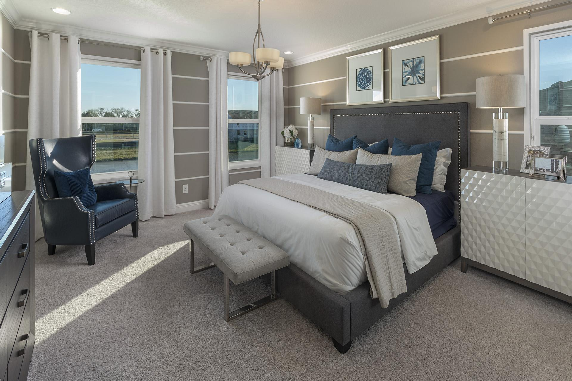 Bedroom featured in the Osceola Executive By Hanover Family Builders in Orlando, FL