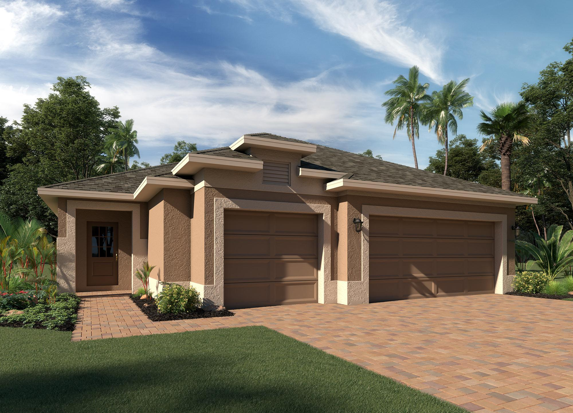 Exterior featured in the Delano By Hanover Family Builders in Lakeland-Winter Haven, FL