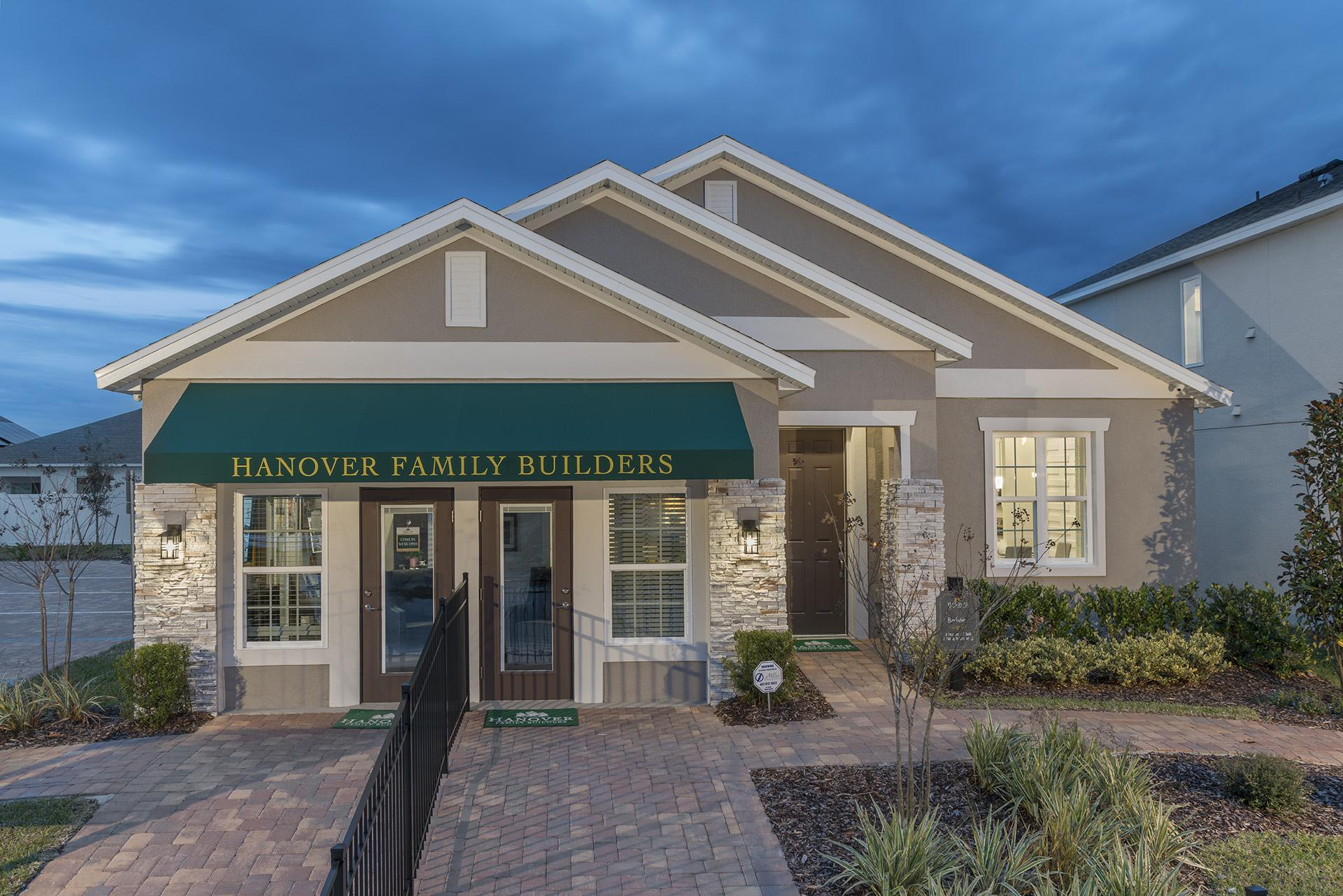 Exterior featured in the Berkshire By Hanover Family Builders in Lakeland-Winter Haven, FL