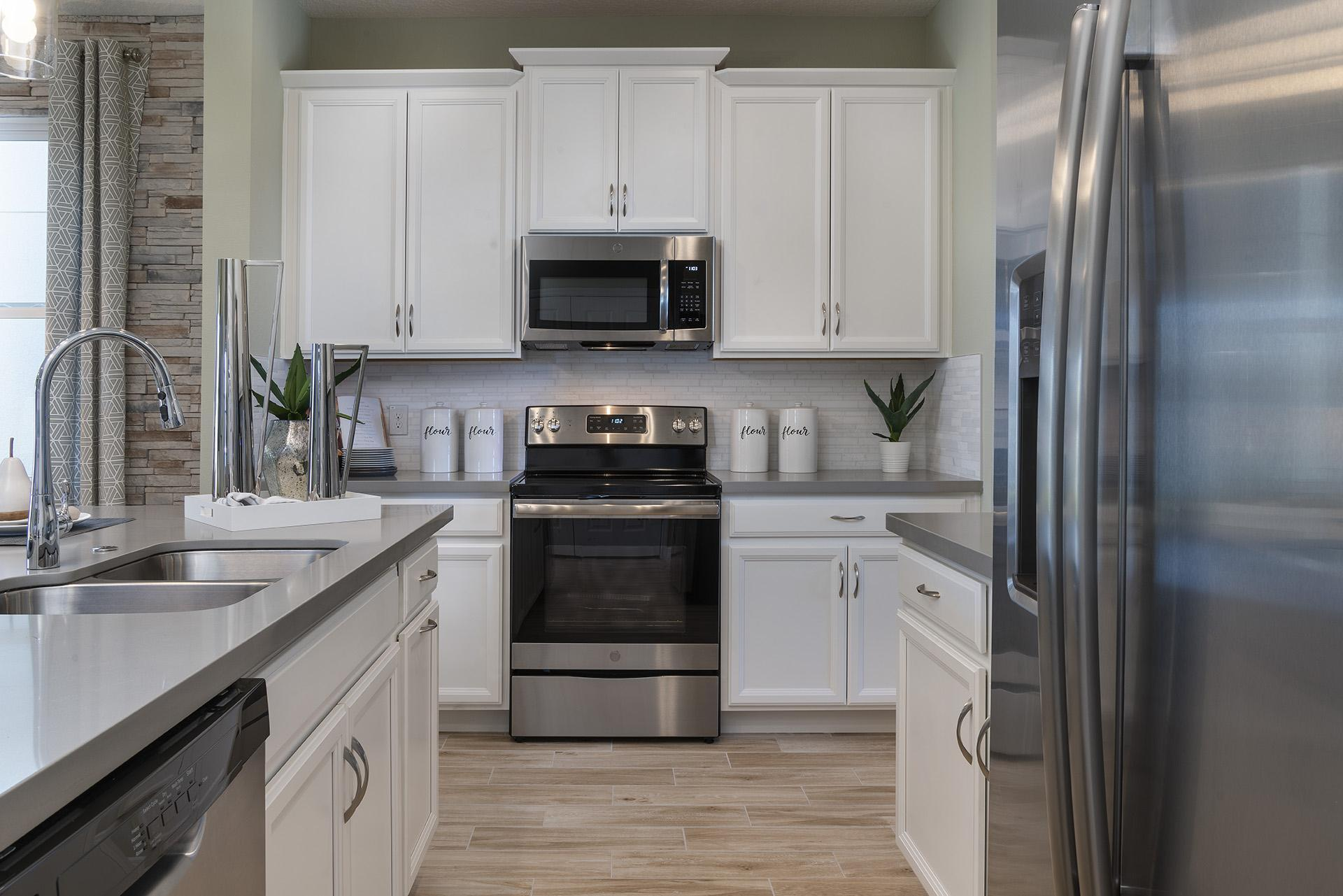 Kitchen featured in the Berkshire By Hanover Family Builders in Lakeland-Winter Haven, FL