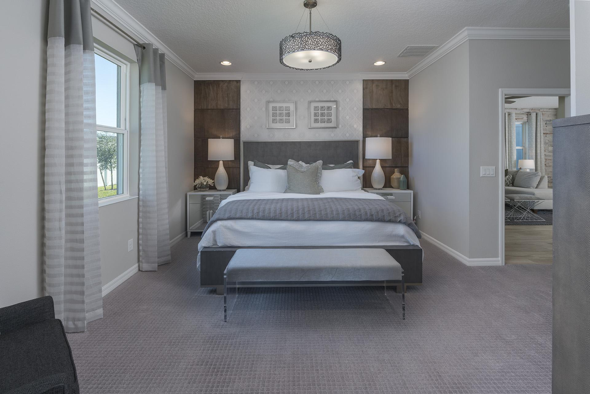 Bedroom featured in the Berkshire By Hanover Family Builders in Lakeland-Winter Haven, FL