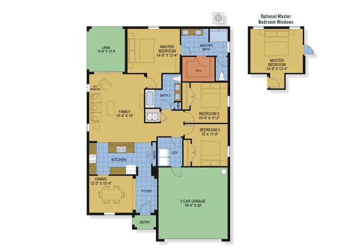 Berkshire floor plan