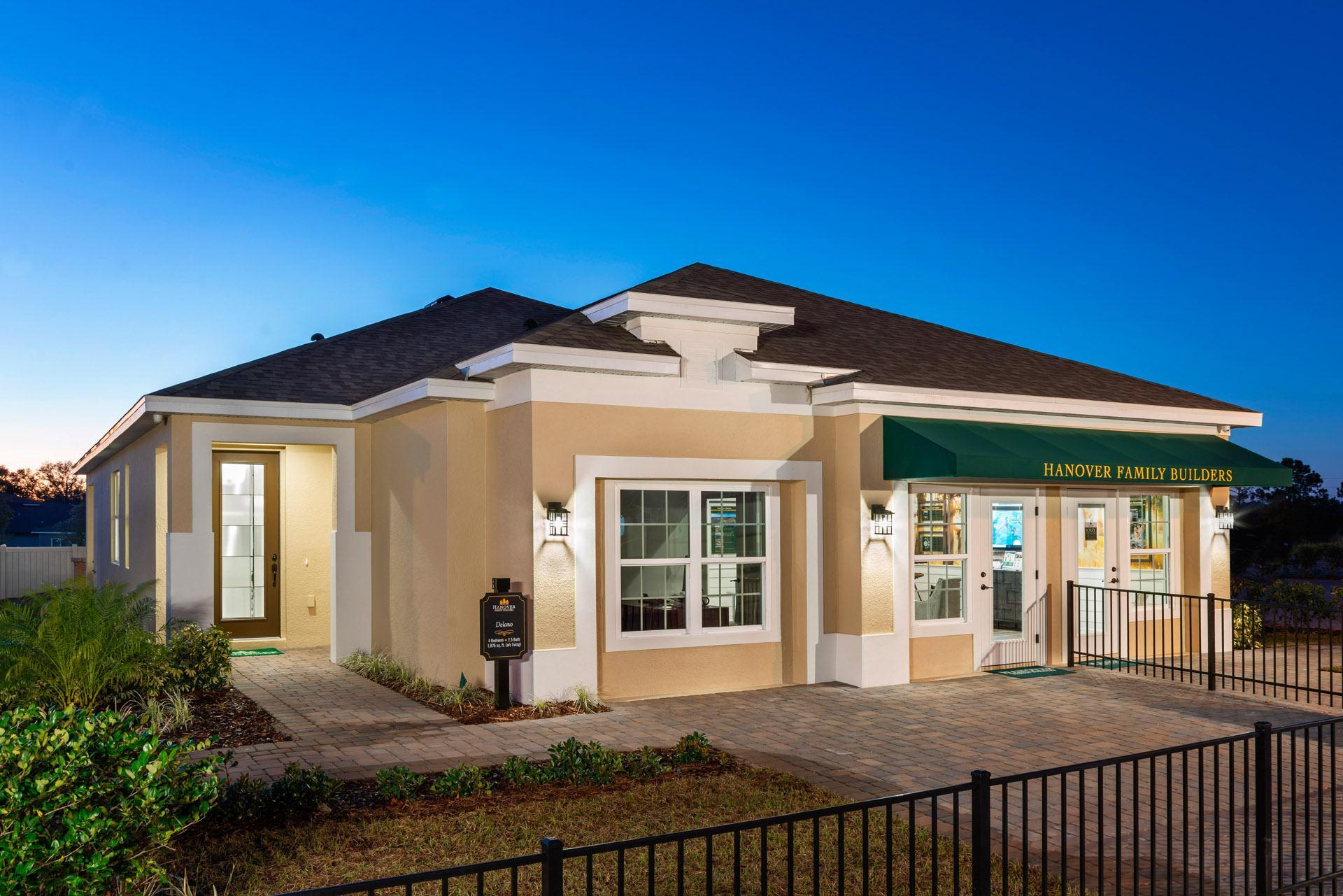 Exterior featured in the Delano By Hanover Family Builders in Orlando, FL