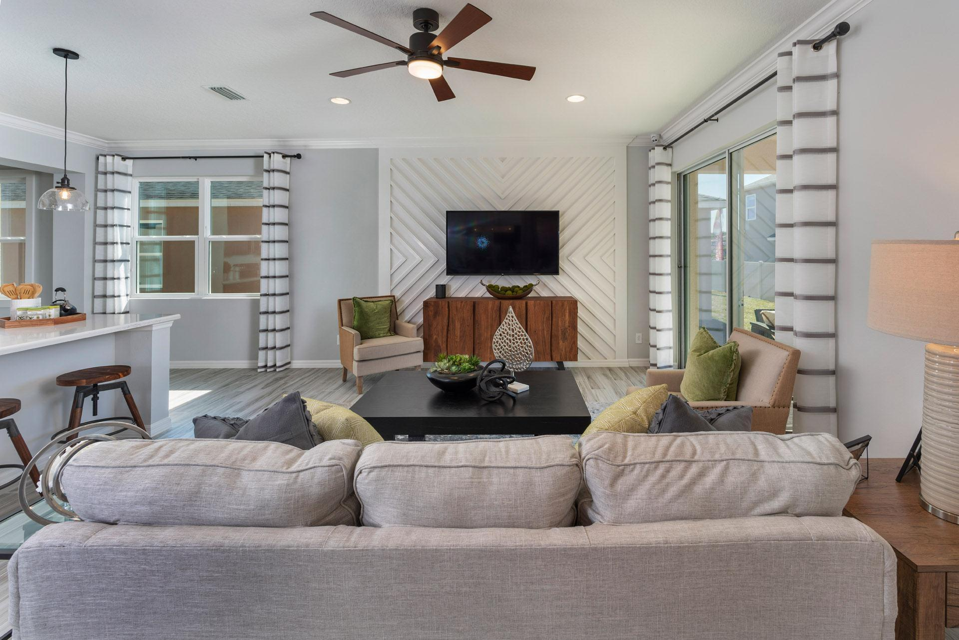 Living Area featured in the Delano By Hanover Family Builders in Lakeland-Winter Haven, FL