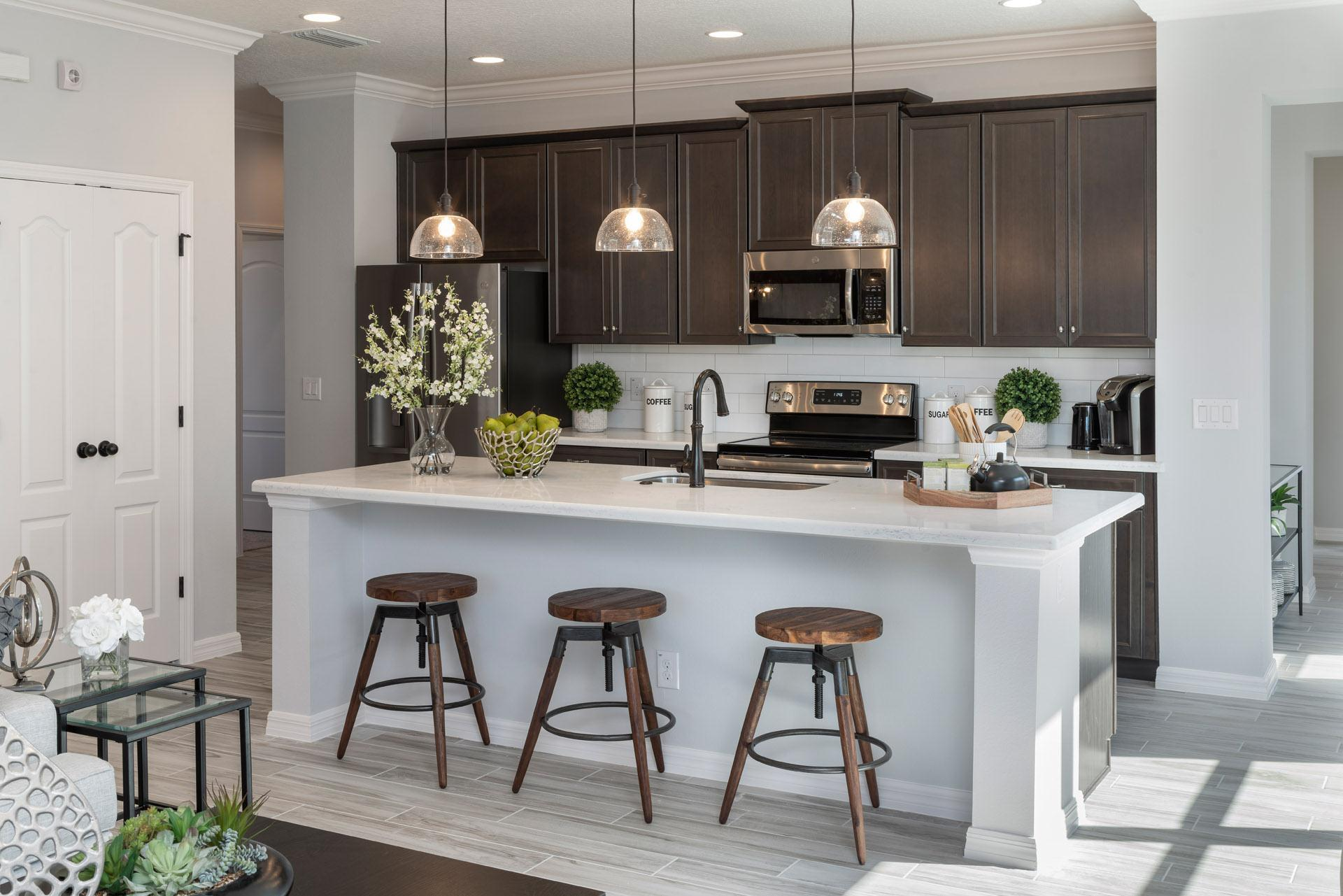 Kitchen featured in the Delano By Hanover Family Builders in Orlando, FL