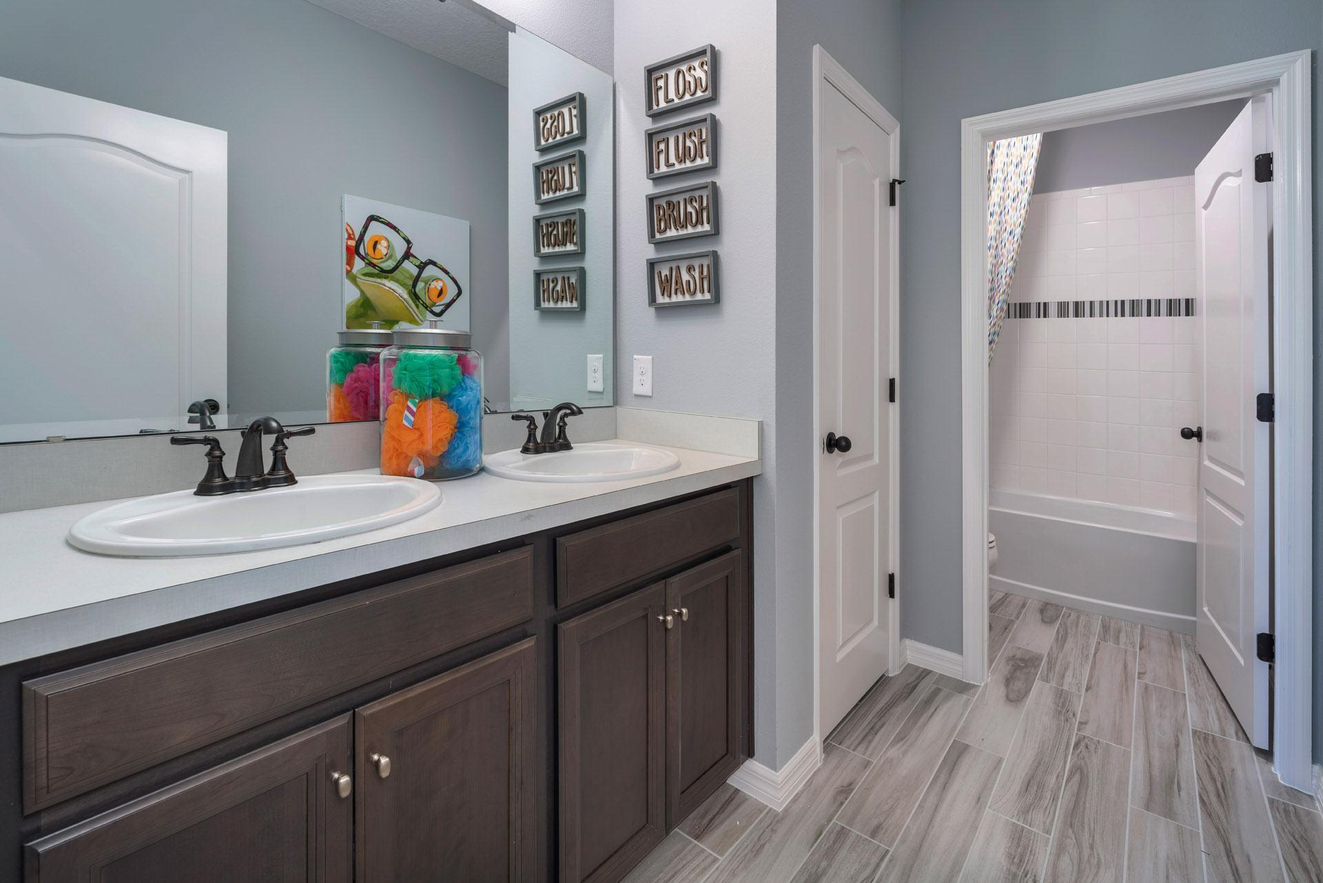 Bathroom featured in the Delano By Hanover Family Builders in Lakeland-Winter Haven, FL