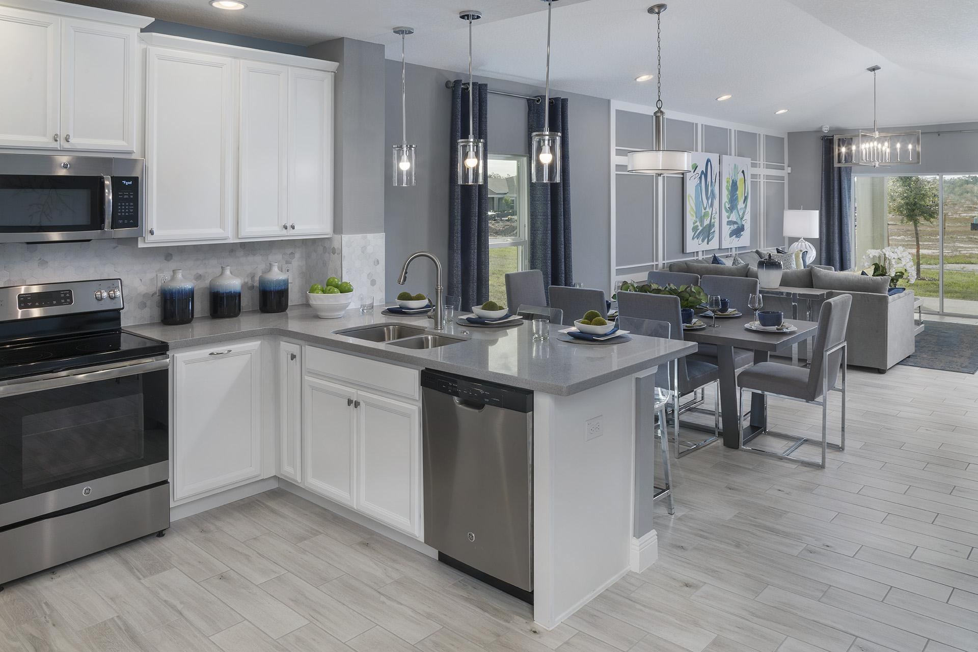Kitchen featured in the Lexington By Hanover Family Builders in Lakeland-Winter Haven, FL