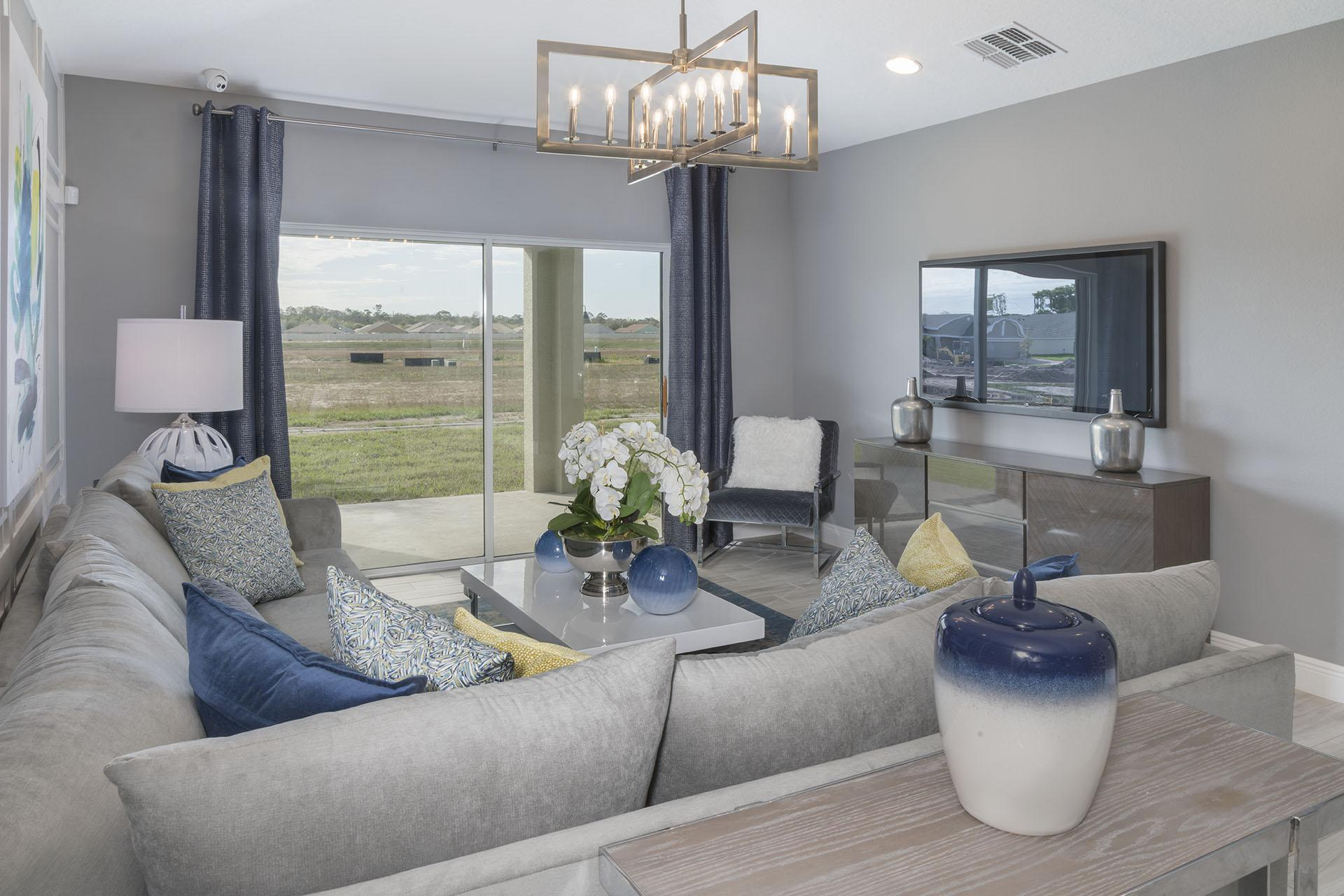 Living Area featured in the Lexington By Hanover Family Builders in Lakeland-Winter Haven, FL