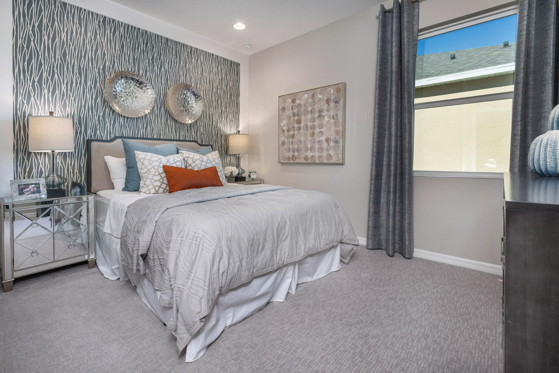 Bedroom featured in the Kensington Flex By Hanover Family Builders in Lakeland-Winter Haven, FL