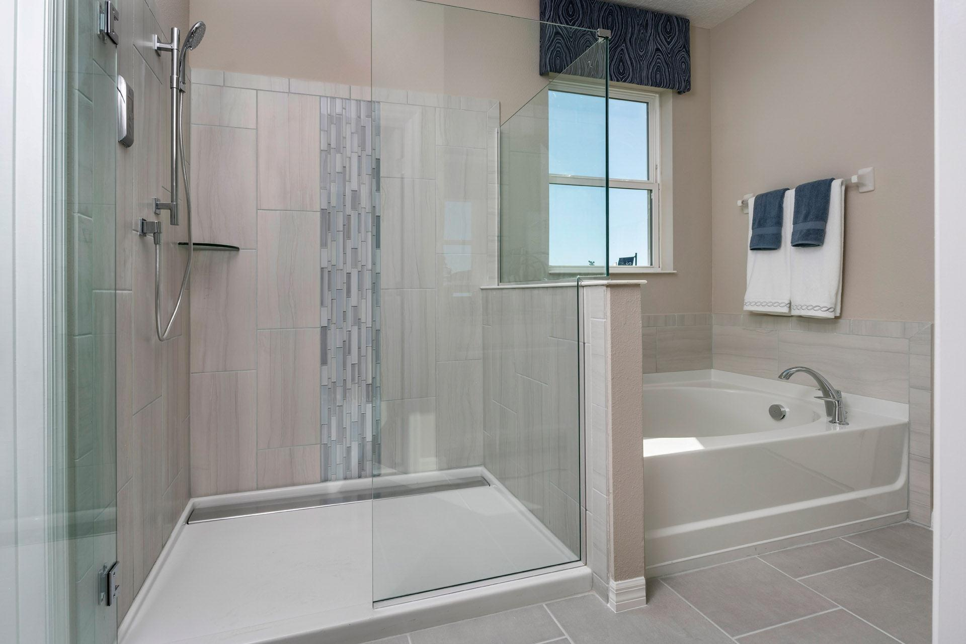 Bathroom featured in the Kensington Flex By Hanover Family Builders in Lakeland-Winter Haven, FL