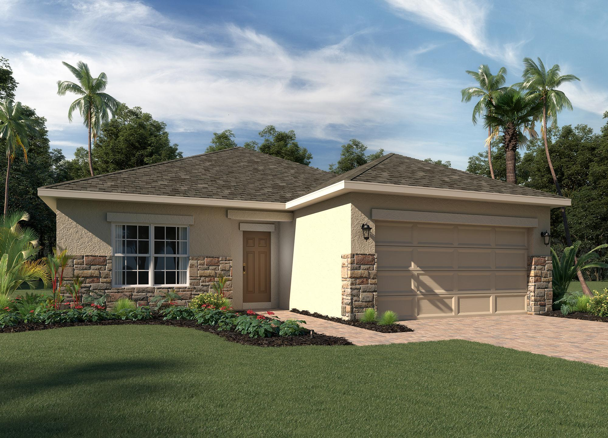 Exterior featured in the Bartley By Hanover Family Builders in Lakeland-Winter Haven, FL