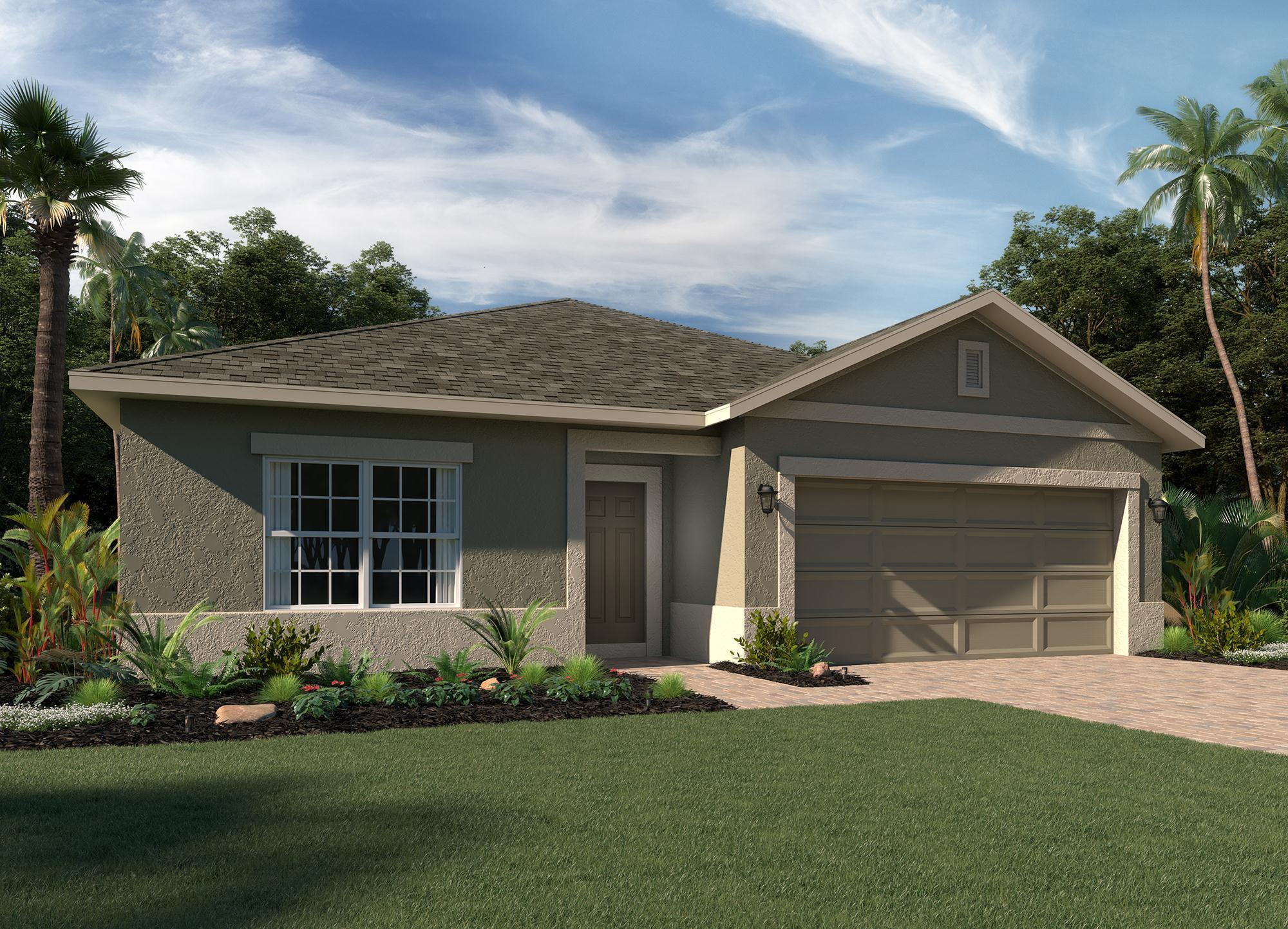 Exterior featured in the Bartley Flex By Hanover Family Builders in Lakeland-Winter Haven, FL