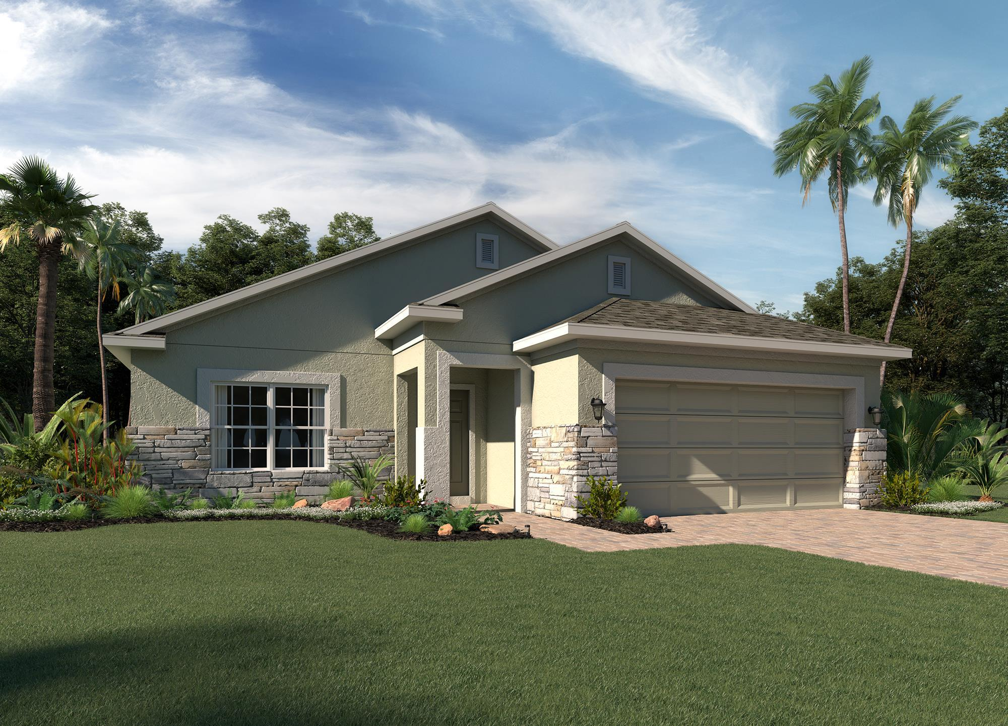 Exterior featured in the Selby By Hanover Family Builders in Lakeland-Winter Haven, FL