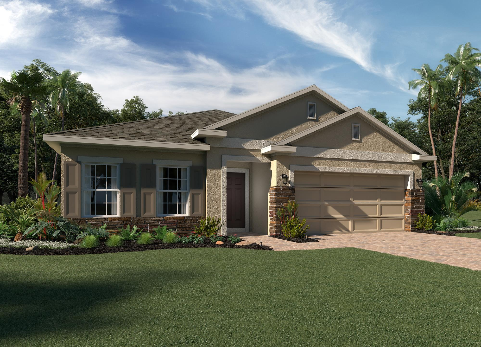 Exterior featured in the Selby Flex By Hanover Family Builders in Lakeland-Winter Haven, FL